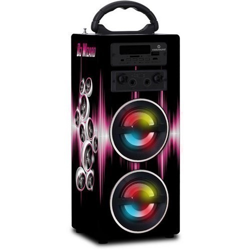 ALTAVOZ COOLSOUND CS0136 KARAOKE DJ WIZARD 10W