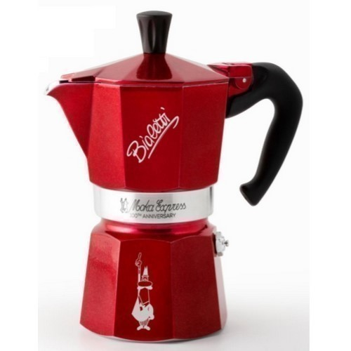 CAFETERA BIALETTI 100TH ANNIVERSARY 3TZAS