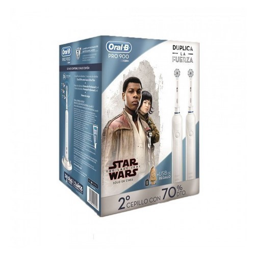 CEPILLO DENTAL BRAUN D-16524 PRO900 DUO STAR WARS