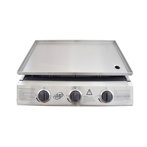 PLANCHA ASAR LARRY HOUSE LH1580 3F GAS INOX