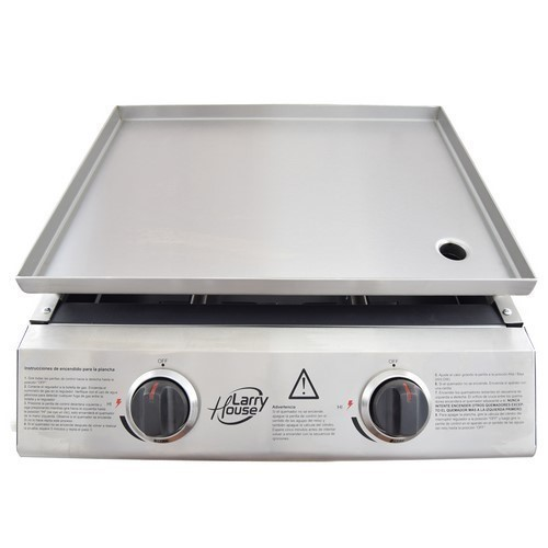 PLANCHA ASAR LARRY HOUSE LH1644 2F GAS INOX