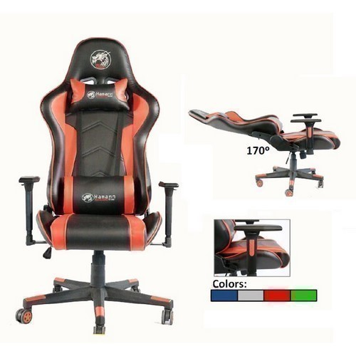 SILLA GAMING HAMANN PREDATOR RED