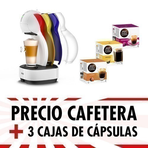 CAFETERA DELONGHI EDG355.W1 COLORS