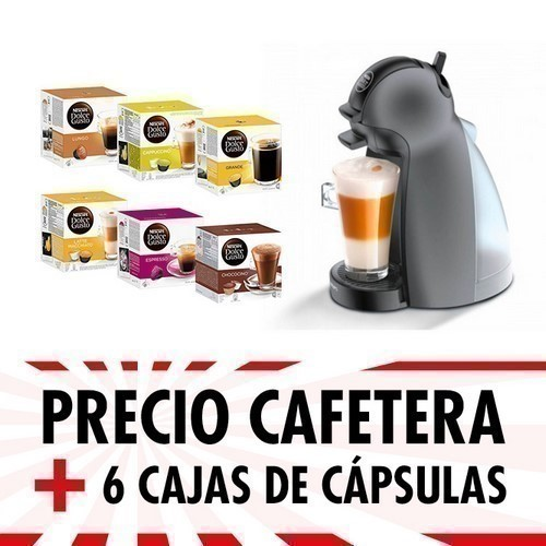 CAFETERA KRUPS KP100BSC PICCOLO ANTRACITA