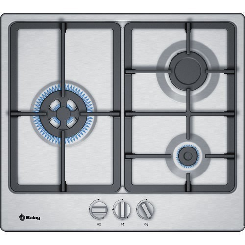 PLACA BALAY 3ETX563HB 3F GAS INOX