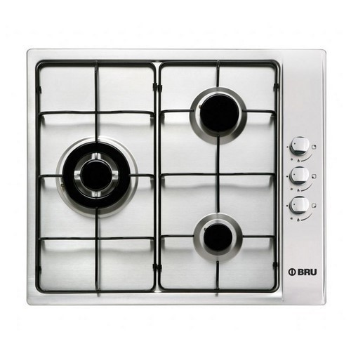 PLACA BRU EEG3FN 3F GAS INOX