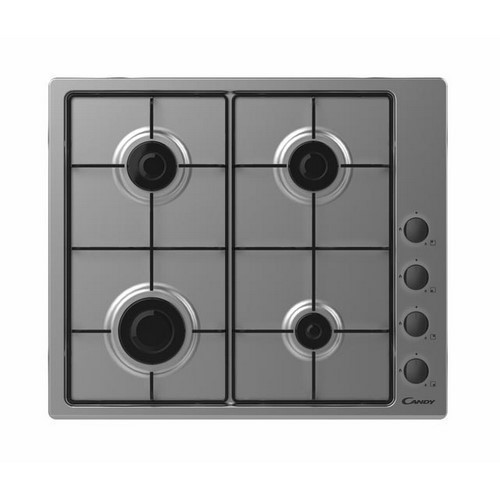 PLACA CANDY CHW6LBX 4F GAS INOX
