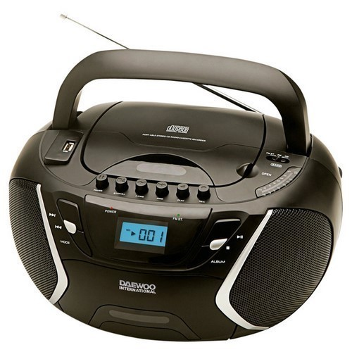 RADIO CD DAEWOO DBU51 NEGRO