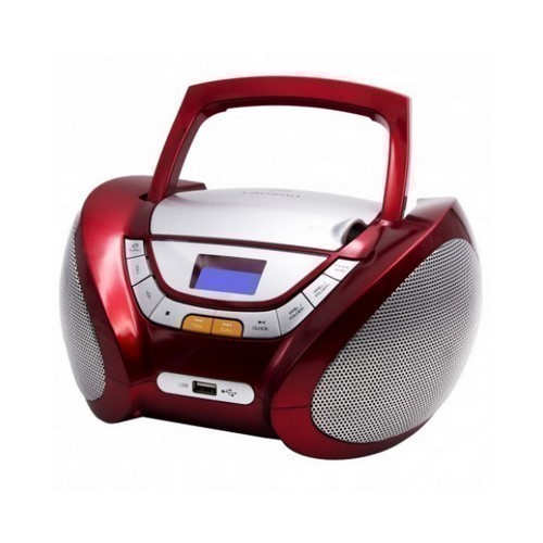 RADIO CD LAUSON CP442 ROJO