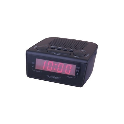 RADIO DESPERTADOR SUNSTECH FRD18 NEGRO