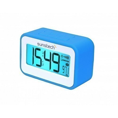 RADIO DESPERTADOR SUNSTECH FRD30U AZUL