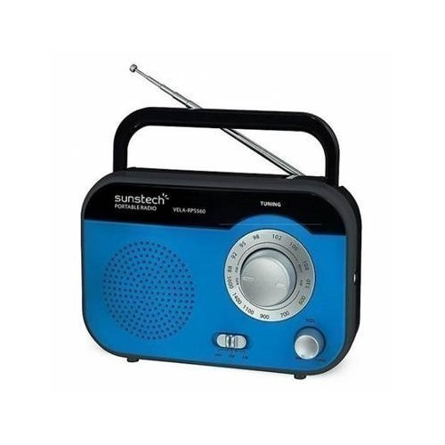 RADIO SUNSTECH RPS-560 AZUL