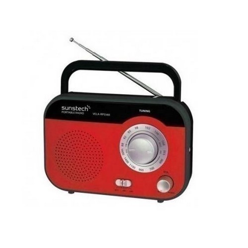 RADIO SUNSTECH RPS-560 ROJO