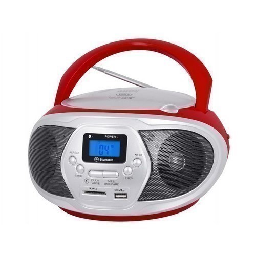 RADIO CD TREVI CMP 548 ROJO/BLANCO