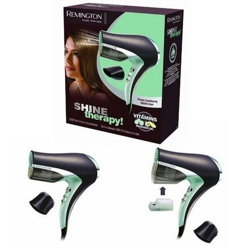 SECADOR REMINGTON D4444 2000W VITAMINAS AGUACATE