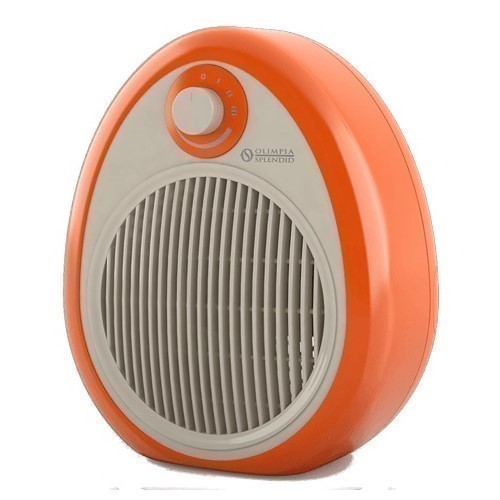 CALEFACTOR OLIMPIA CROMO COLORS ORANGE