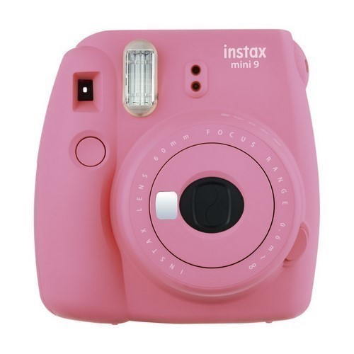 CAMARA FOTOS FUJI INSTAX MINI 9 ROSA FLAMINGO