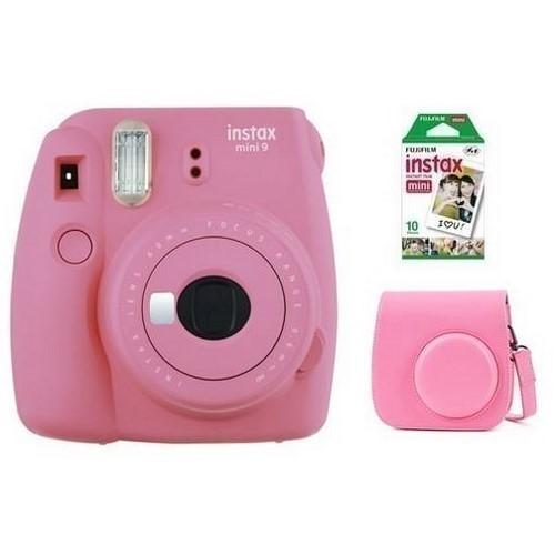 CAMARA FOTOS FUJI INSTAX MINI 9 ROSA + KIT
