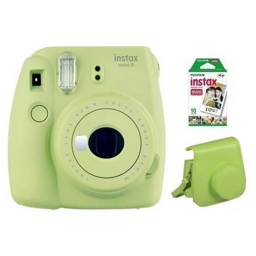 CAMARA FOTOS FUJI INSTAX MINI 9 VERDE + KIT
