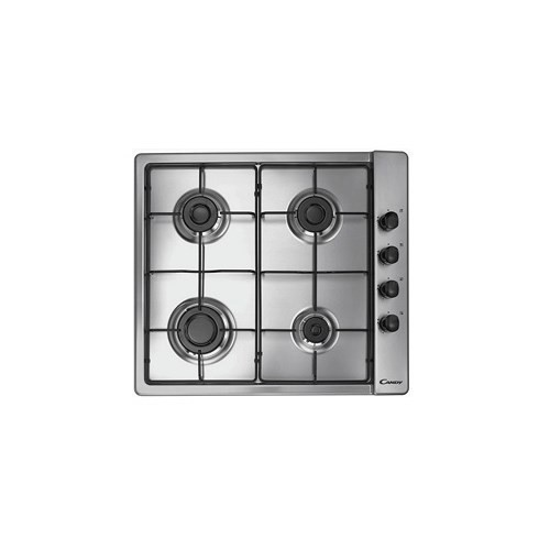 PLACA CANDY CLG64SPX BG 4F GAS INOX